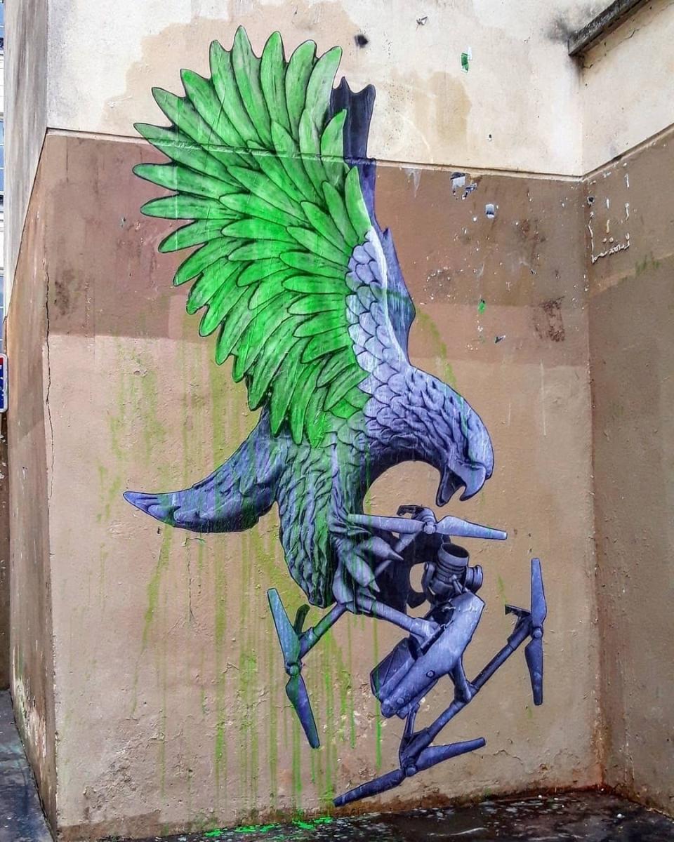 Streetart News [wall 1408] – Ludo, Miles Toland, Dimitris Taxis