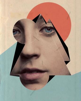 Geometric Portrait VII by Marcos Guinoza