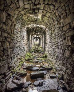 Miniera abbandonata in Graveglia, Liguria, Italia