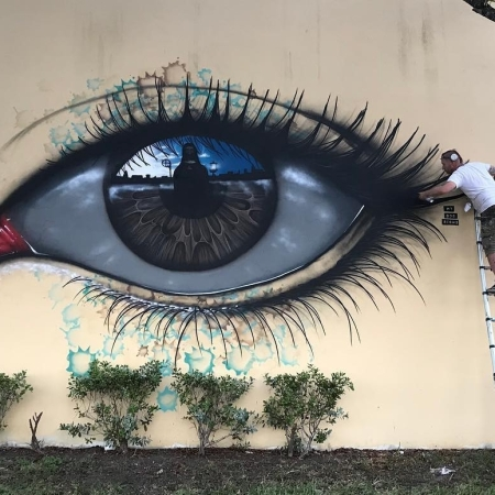 My Dog Sighs @Miami, Florida, USA