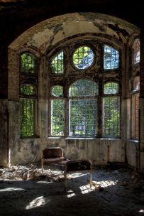 Ospedale abbandonato a Berlino