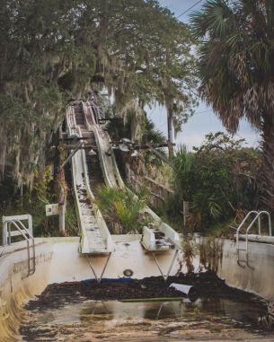 Parco acquatico abbandonato in FloridaParco acquatico abbandonato in Florida