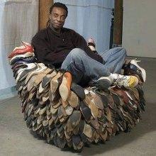 Poltrona scarpe