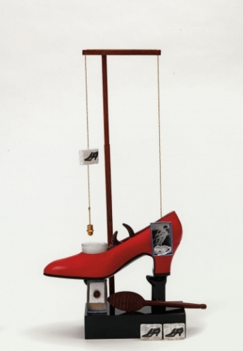 Salvador Dalí, Surrealist Object Functioning Symbolically – Gala's Shoe (1931) (1973 edition)