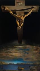 Salvador Dalí, Christ of St. John of the Cross, c. 1951. Kelvingrove Art Gallery and Museum. © CSG CIC Glasgow Museums Collection