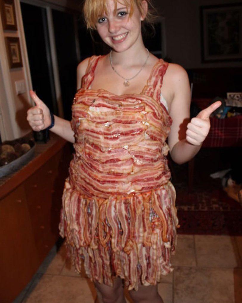 Vestito pancetta