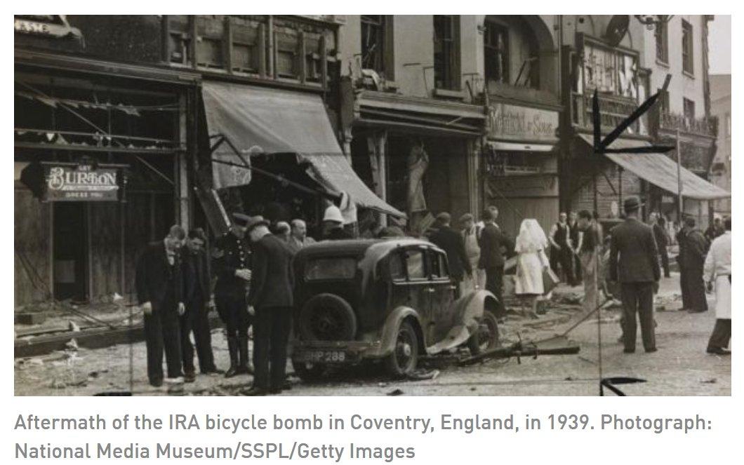 16 gennaio 1939 - L'esercito repubblicano irlandese inizia una campagna di bombardamenti e sabotaggi in Inghilterra