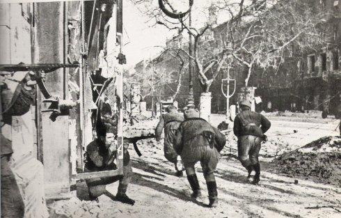 18 gennaio 1945. Liberazione del ghetto di Budapest da parte dell'Armata Rossa