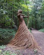 The huntress of skipton castle woods (2018) by Anna And The Willow