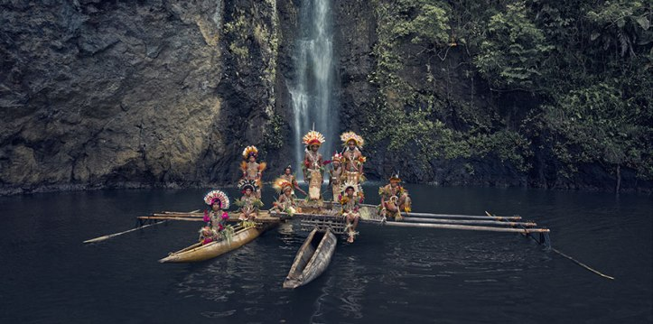 Clan Uramana, Amuioan, Tufi, Papua Nuova Guinea. Fotografia di Jimmy Nelson