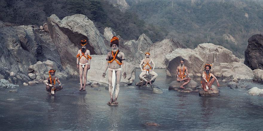 Ganges, Haridwar, India. Fotografia di Jimmy Nelson