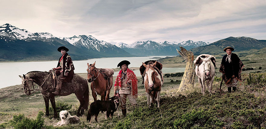 Lago Argentino / Cerro Cristal in Patagonia, Argentina. Fotografia di Jimmy Nelson