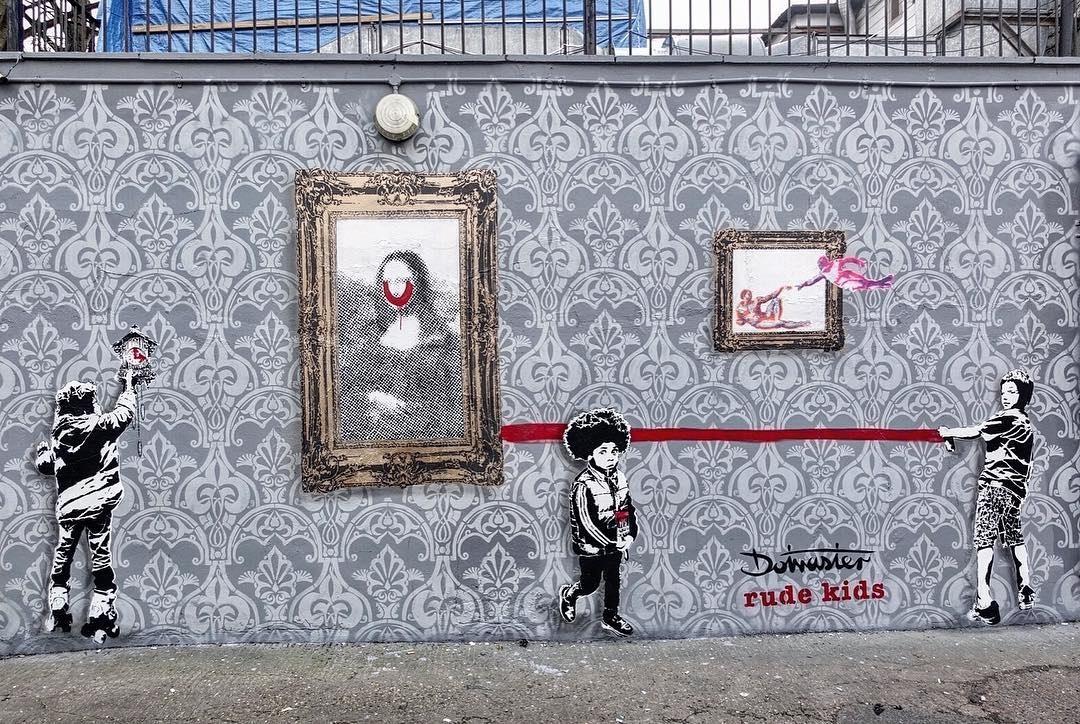 Streetart – Leon Seesix @ London, UK
