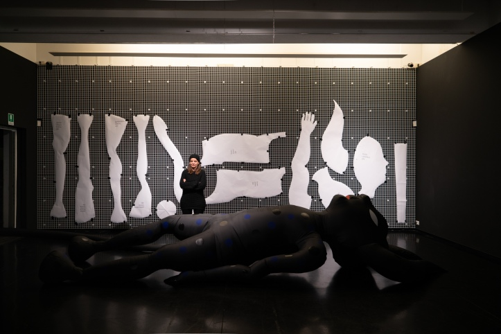 """Minotaur"" by Gio Pistone @ Museo Macro, Roma. Photography by Studio Aira"