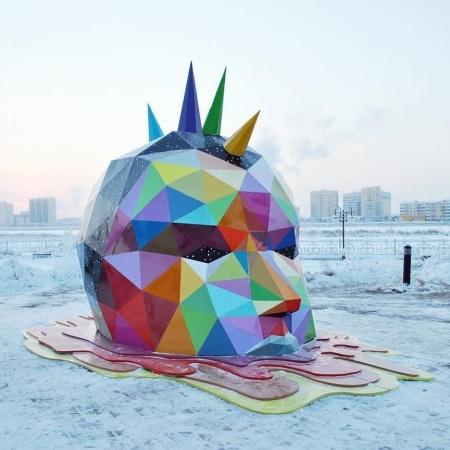 Okudart @Yakutsk, Russia