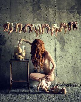 """The Collector"" - Photographer: Peter Zelei - Model: Dori Hajdu"