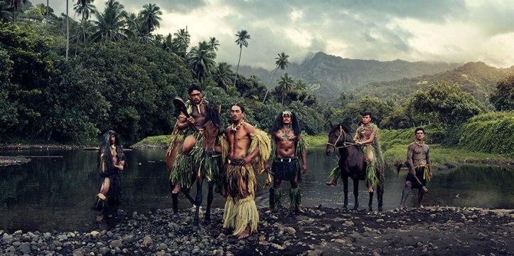 Rio Vaioa, Atuona, Hiva Oa, Isole Marchesi, Polinesia francese. Fotografia di Jimmy Nelson