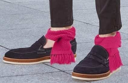 Sciarpa da caviglia