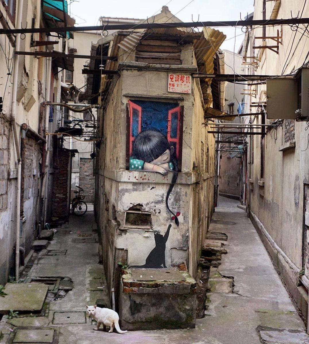 Streetart Flash – Seth Globepainter @ Shanghai, China