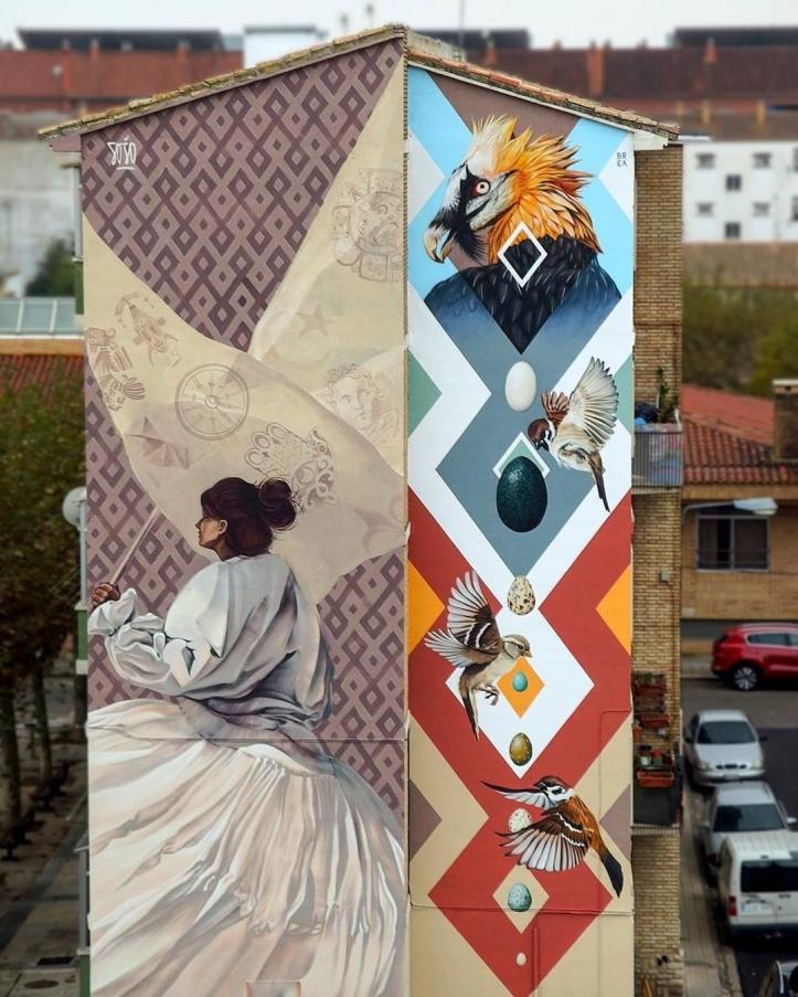 Streetart News [1435] – Sojo & J.M. Brea, Dodo Ose, Bless