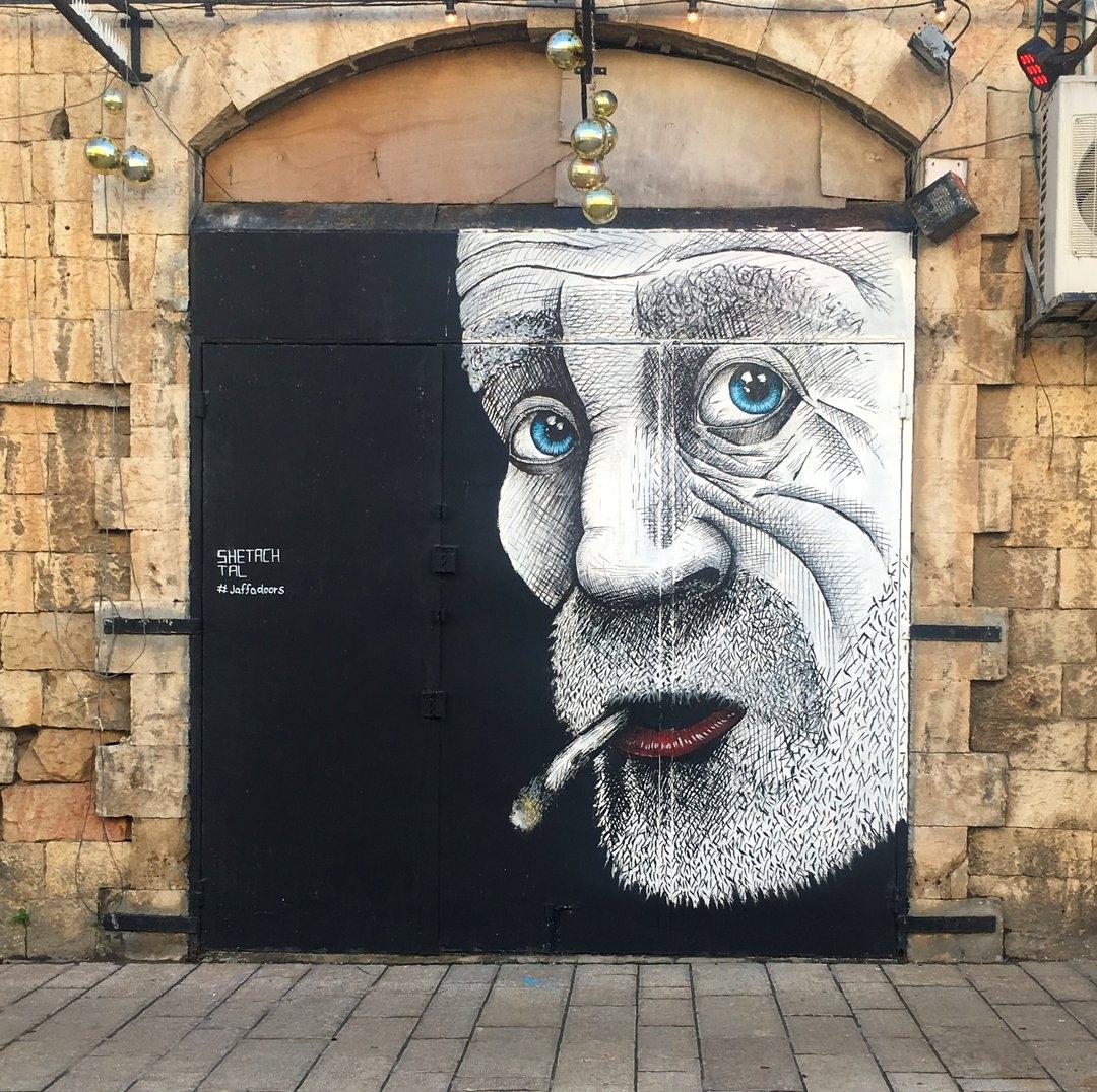 Tal Shetach @Jaffa, Israel