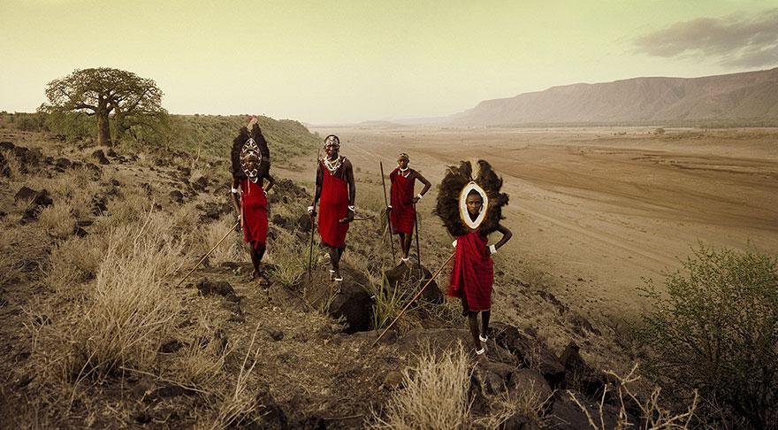 Tarangire, Rift Escarpment, Tanz. Fotografia di Jimmy Nelson