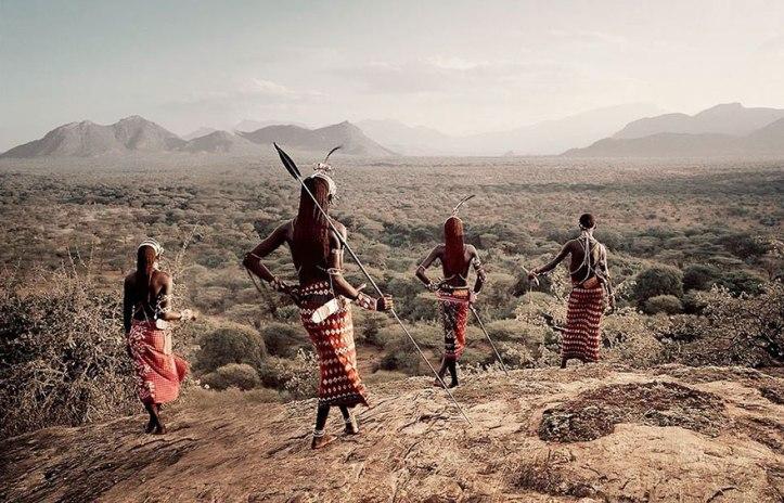 Tribù Samburu, Kenya. Fotografia di Jimmy Nelson