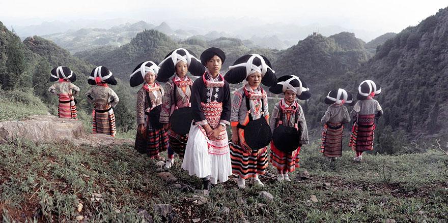 Villaggio Miao, Liu Pan Shui, Gui Zhou, Cina. Fotografia di Jimmy Nelson