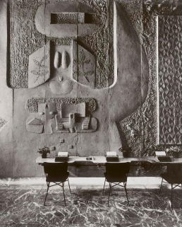 Wall Relief - Olivetti Showroom, NYC by Costantino Nivola, 1954