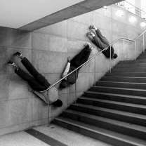 Bodies in Urban Spaces. Project by Willi Dorner