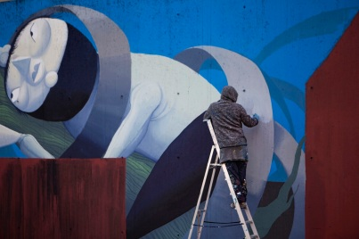 Zed1 @Milan, Italy - Work in progress - Photography by Elena Muresu