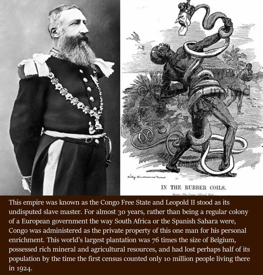 1885 - Il re del Belgio Leopoldo II decide che il Congo è suo personale possedimento coloniale