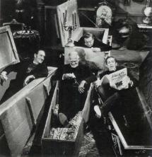Basil Rathbone, Boris Karloff, Vincent Price e Peter Lorre - Il clan del terrore, 1963
