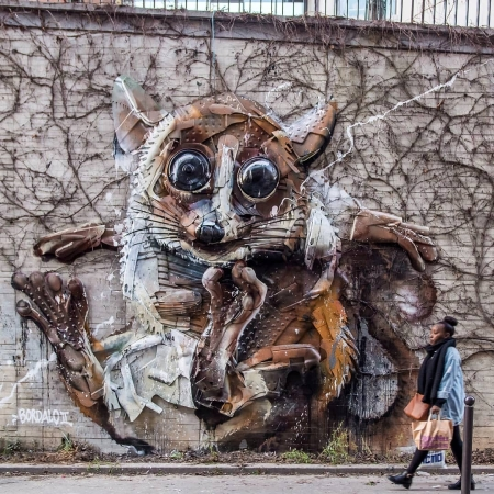 Bordalo II @Paris, France
