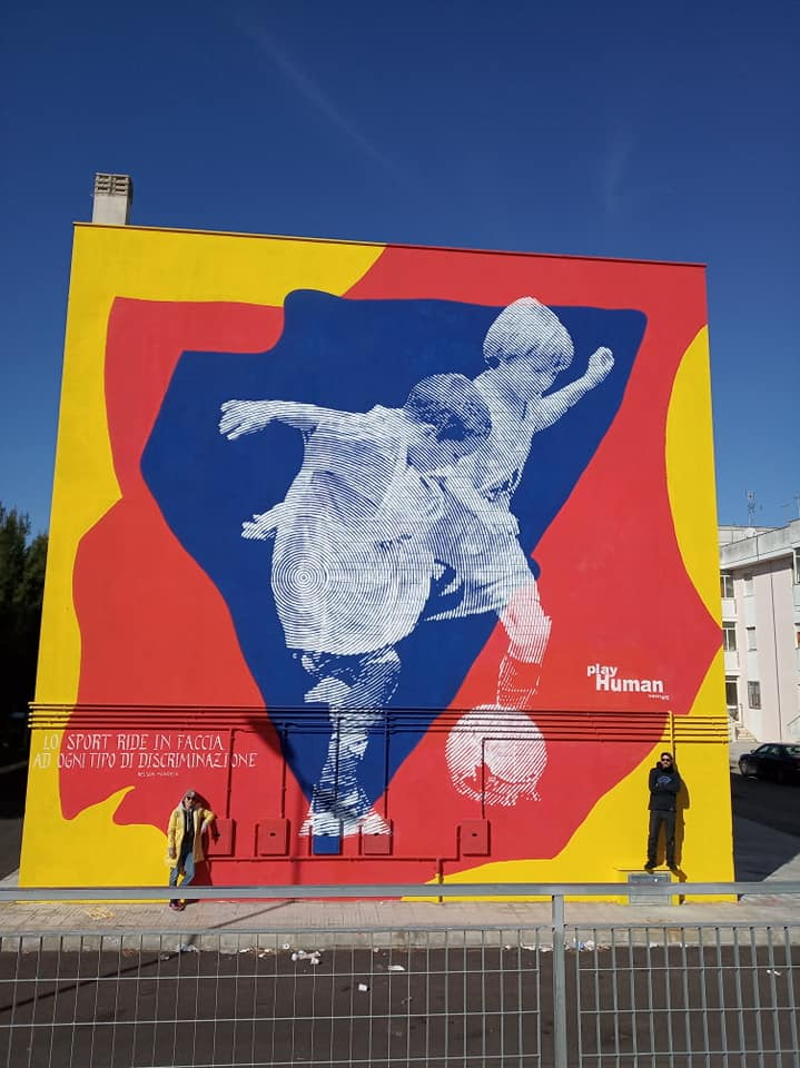 Chekos art @ Carmiano, Italy