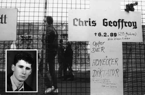 Chris Gueffroy è stato l'ultimo a essere ucciso mentre tentava di fuggire da Berlino Est a Berlino Ovest attraverso il Muro di Berlino nel 1989