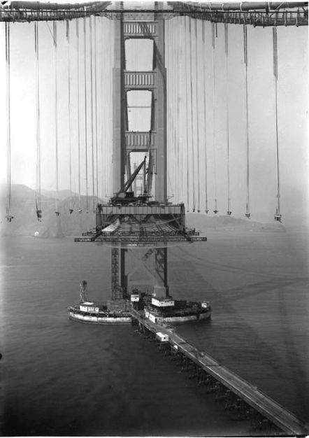Costruizione del Golden Gate, 1933