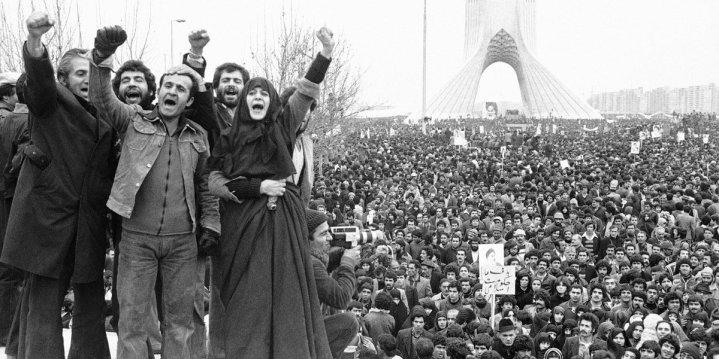 Febbraio 1979, la rivoluzione islamica in Iran