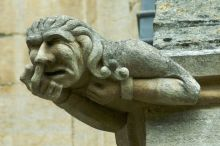 Gargoyle, Ely Cathedral, Cambridge. UK