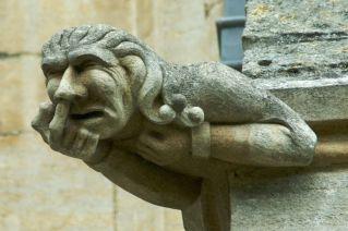 Gargoyle, Ely Cathedral, Cambridge. UK