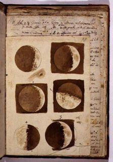 I disegni di Galileo sulla Luna, 1610