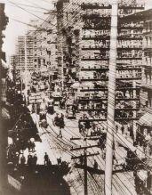 I fili del telefono di Manhattan, 1887