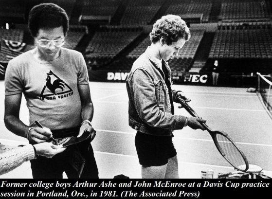Il 6 febbraio 1993 muore il campione americano di tennis Arthur Ashe