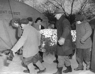 Il funerale di Al Capone si è svolto il 4 febbraio 1947 a Chicago