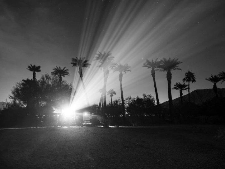 Jenny Holzer, Before I became afraid, 2019. Courtesy of Desert X