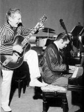Jerry Lee Lewis & Elvis Presley, 1956