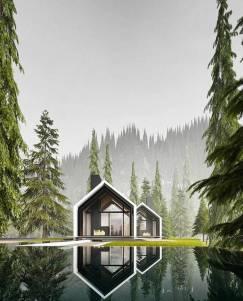 Oslo House by Alexander Nerovnya