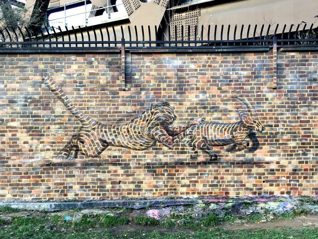 Streetart – Pad @ UK