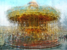 """Carousel de Paris. From the series """"In The Round, Carousels"""" by Pep Ventosa"""