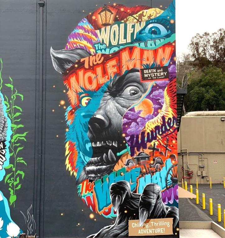 Tristan Eaton @Los Angeles, CA, USA
